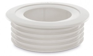 110mm waste pipe fittings white